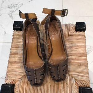 Frye wedge sandals